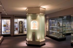 Image of interior of the Hunterian Museum