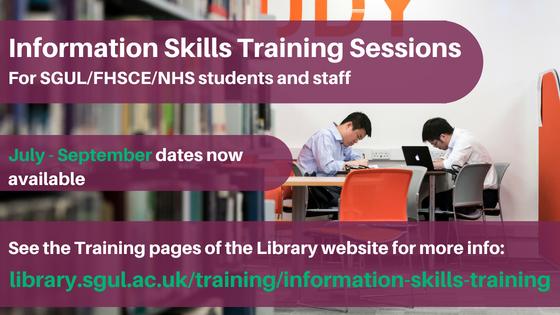 Info Skills Sessions July- september 2018 -blog banner